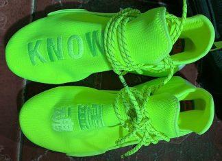 Pharell Adidas NMD Hu Neon