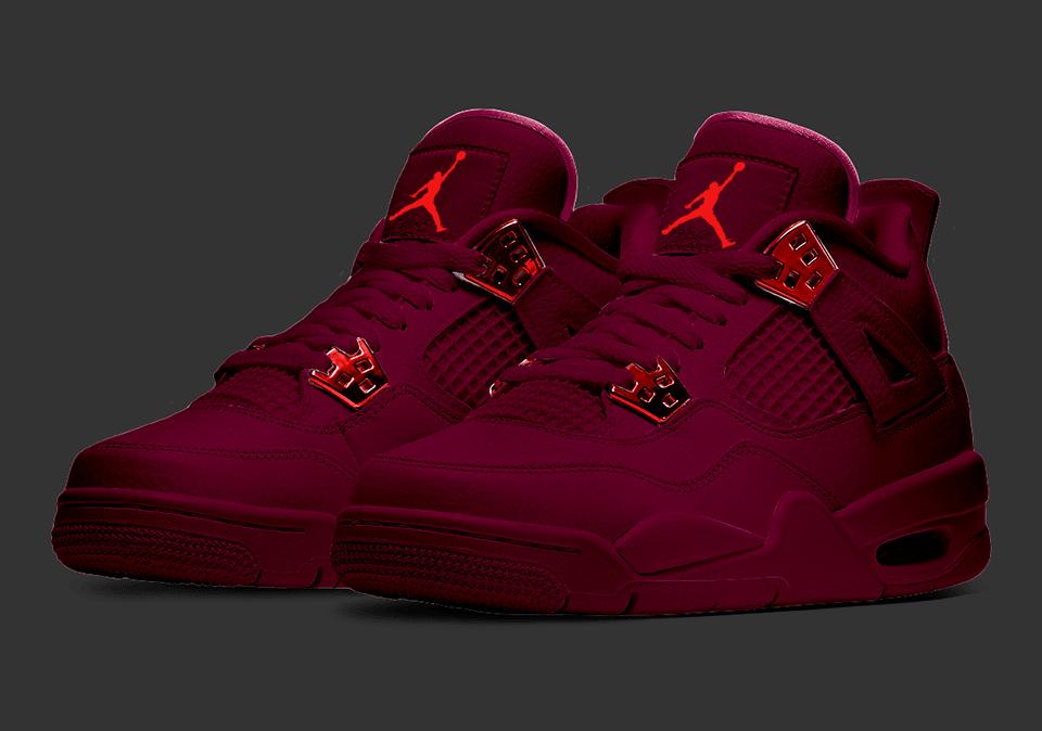 The All-New Nike Air Jordan 4 'Midnight Maroon' - Sneakerz