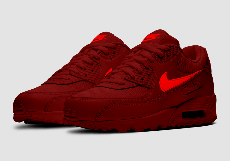 The All-New Nike Air Max 90 'Midnight Maroon' - Sneakerz